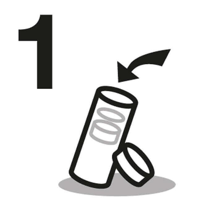 Wasserflasche Anleitung 1
