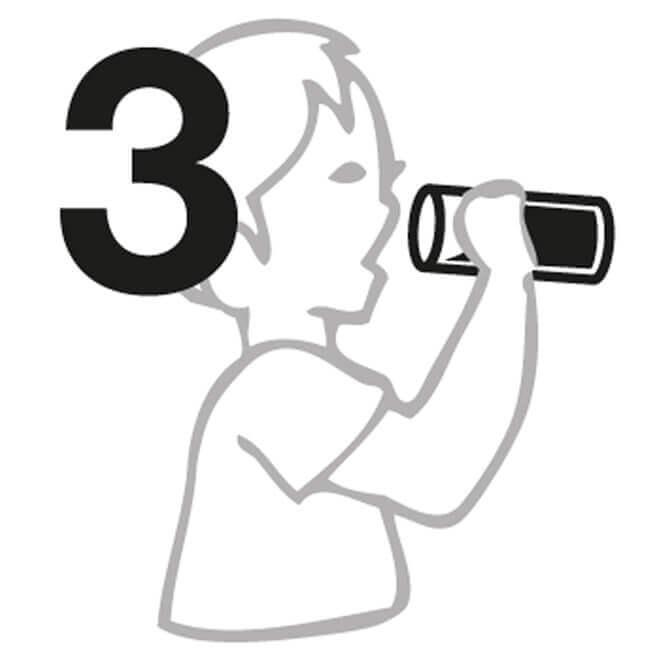 Manuel n° 3 pour Bouteille d'eau
