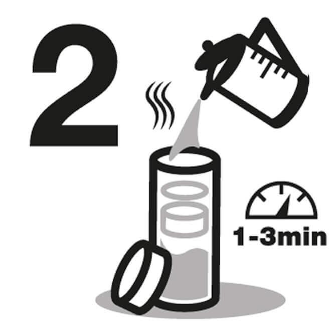 Instrucción de Frasco de Agua 2
